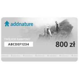 addnature Karta upominkowa 800 zł